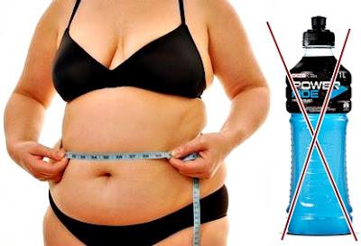 Obesidad bebida isotónica