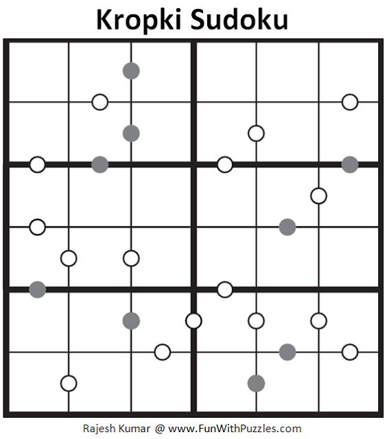 Kropki Sudoku (Mini Sudoku Series #86)