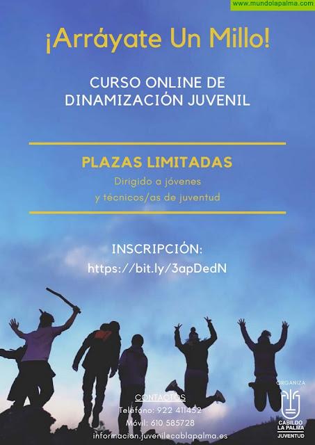 El Cabildo promueve el asociacionismo entre los jóvenes de la isla a través de un curso on line