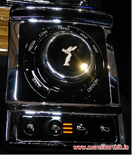 rolls royce phantom control panel
