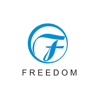 Freedom Logo Cool Circle Free Download Vector CDR, AI, EPS and PNG Formats