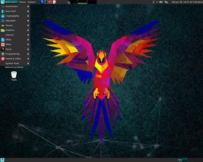 Parrot Secutiry OS 3.3