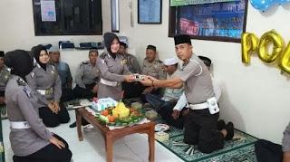 Sambut HUT Ke 62, Ini Dilakukan Satlantas Polres Aceh Selatan