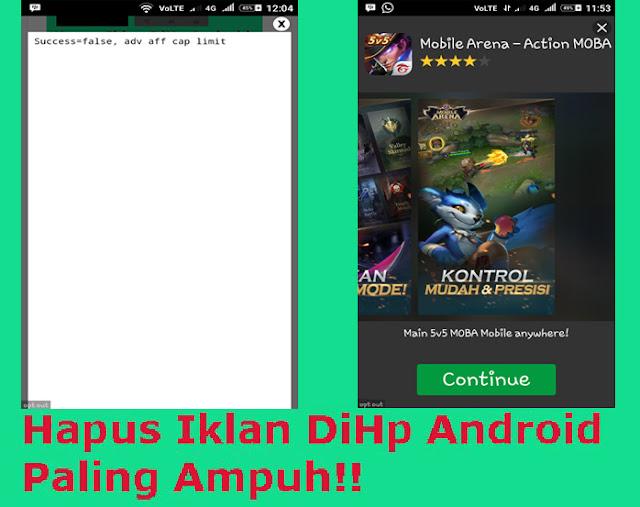Cara Menghilangkan Iklan di Android Paling Ampuh
