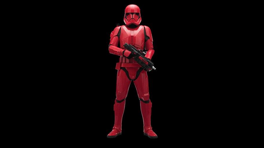 Star Wars The Rise Of Skywalker Sith Trooper 8k Wallpaper