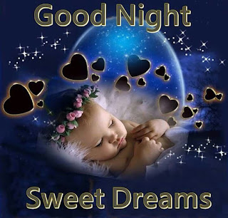 Cute baby goodnight wishes images