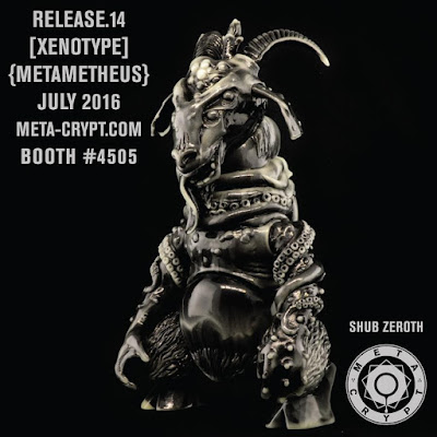 San Diego Comic-Con 2016 Exclusive Shub Zeroth Vinyl Figures by METACRYPT (Brian Ewing x Hateball)