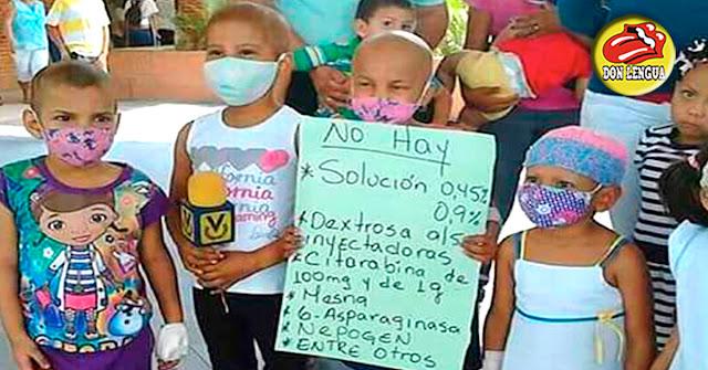 Ya van 19 niños muertos en el J.M. de los Ríos por culpa de Nicolás Maduro