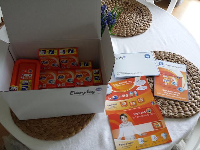 grono ambasadorów Everydayme.pl, Kapsułki Vizir Go Pods, projekt Everydayme.pl, testowanie kapsułek Vizir Go Pods Alpine Fresh,