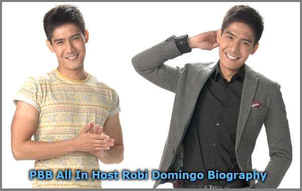PBB All In Host Robi Domingo Biography