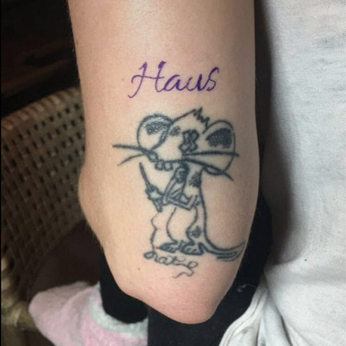 tatuagem lady gaga haus