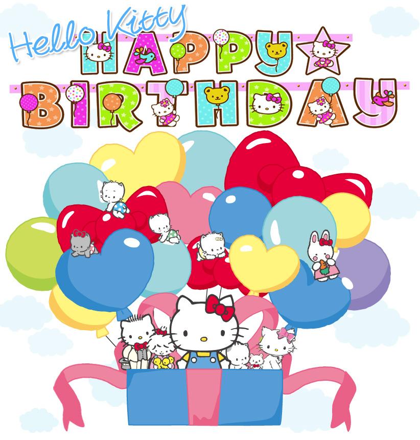 Impress Moment Happy Birthday To Hello Kitty