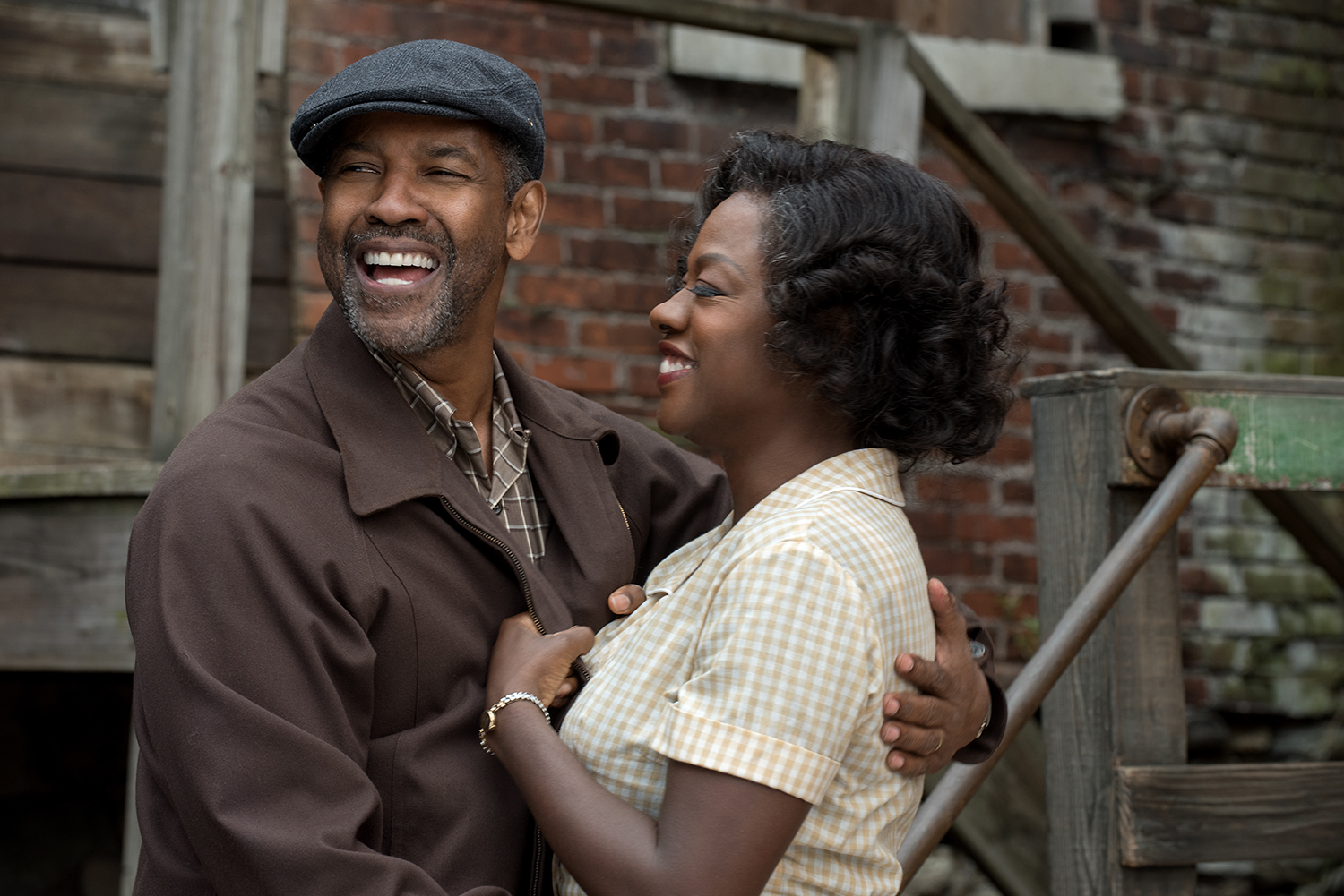 FENCES - Denzel Washington y Viola Davis