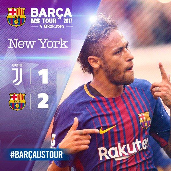 Juve 1-2 Barcelona ICC | Neymar MVP del partido