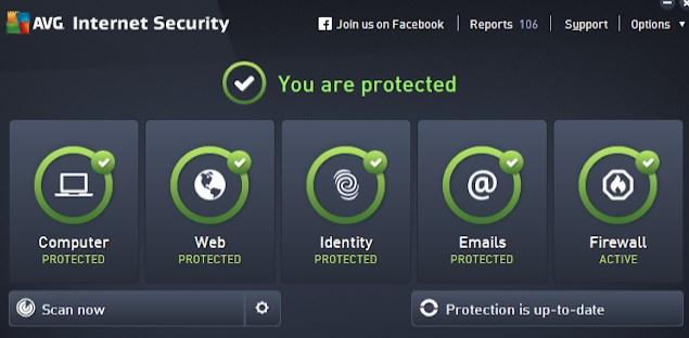 AVG Internet Security offline Installer