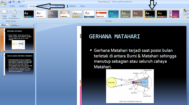 langkah langkah membuat power point