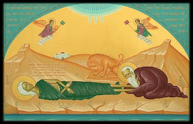 Αέναη επΑνάσταση: Ε' Κυριακή των Νηστειών Οσίας Μαρίας της ...