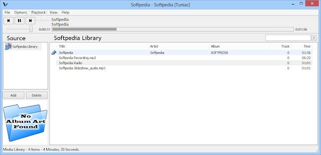 تنزيل برنامج تشغيل الاغاني للكمبيوتر مجانا Download Tuniac
