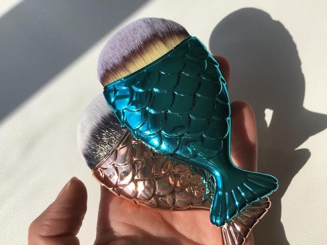 tosave alışverişi fish brush balık fırça mermaid brush 4