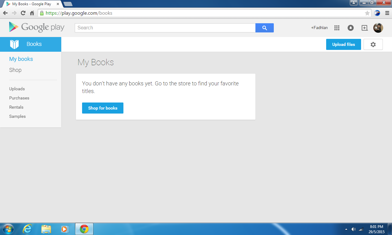 Fadhlan Hilmi Blogger: My book on Google Play Books