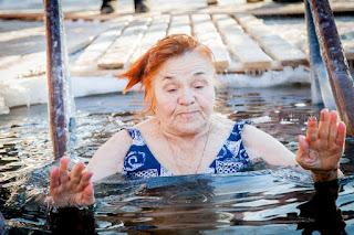 Как уфимцы провели Крещение Христово Фоторепортаж