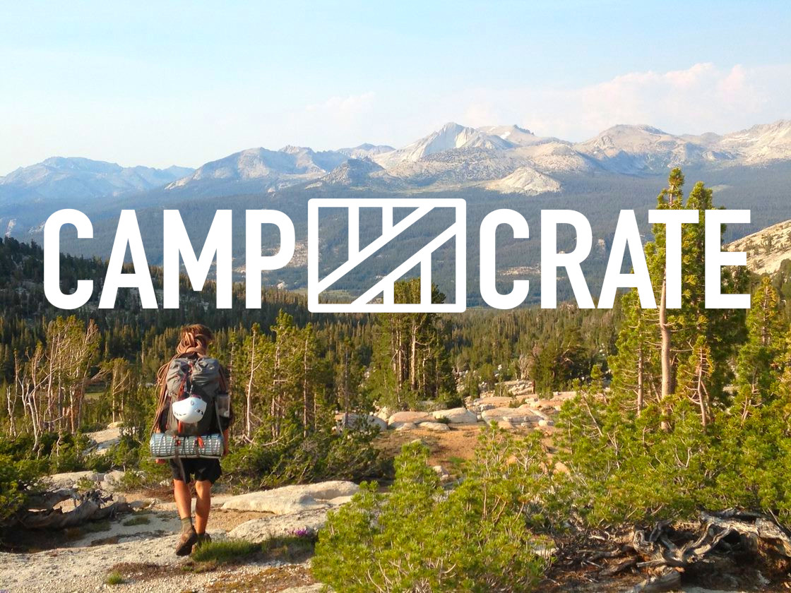 Pre-planned backpacking adventures and gear rental with CampCrate