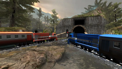 aneka game android Train Racing Games 3D 2 Player Apk