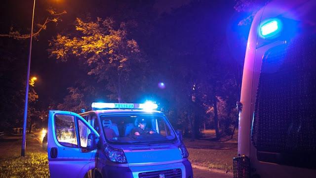 zdjęcie: policja/ Chciał rzucić się pod pociąg