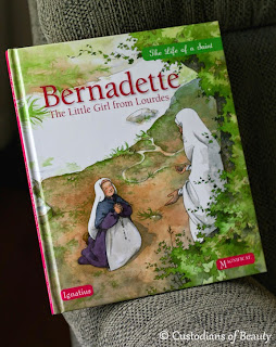 Bernadette: The Little Girl From Lourdes | by CustodiansofBeauty.blogspot.com