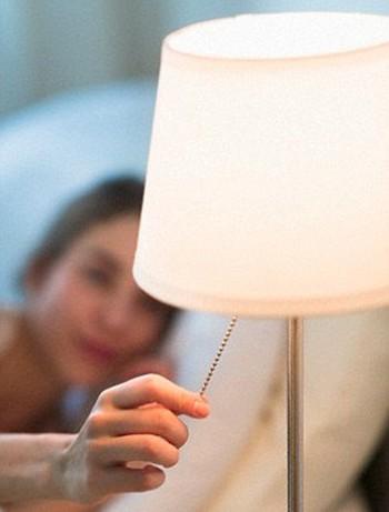 Tắt đèn khi ngủ thụ thai nhanh