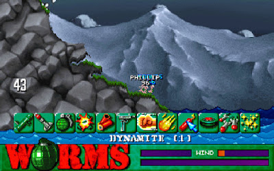 Pantallazo videojuego Worms