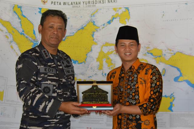 Plt. Bupati terima kunjungan kerja Danlanal Malang