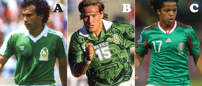 4d7cb0d6eba We asked you to pick your favourite Mexico World Cup shirt from those worn  at the 1986, 1998 and 2010 tournaments
