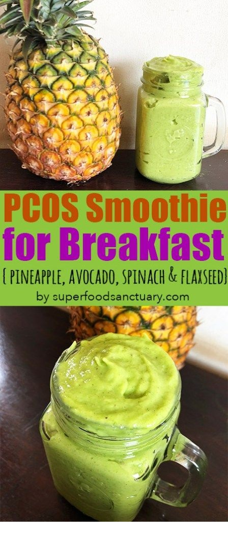 PCOS Friendly Breakfast Smoothie