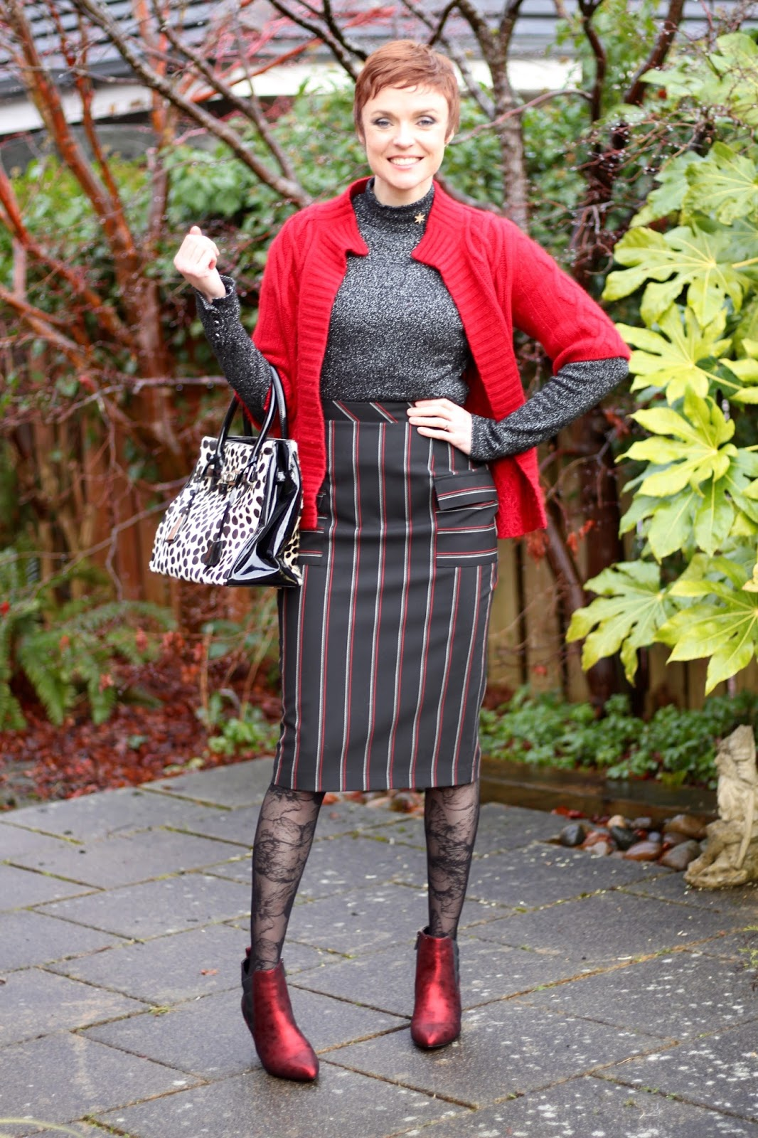 3 Ways to Fake a Festive Outfit | #fakeituntilyoumakeit LINK UP