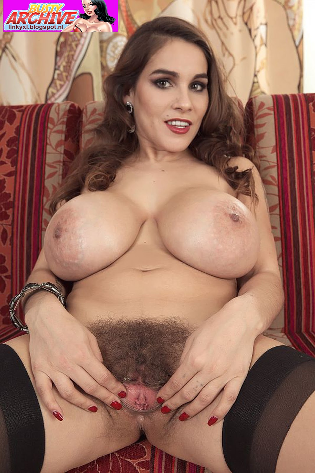 Huge hairy tits
