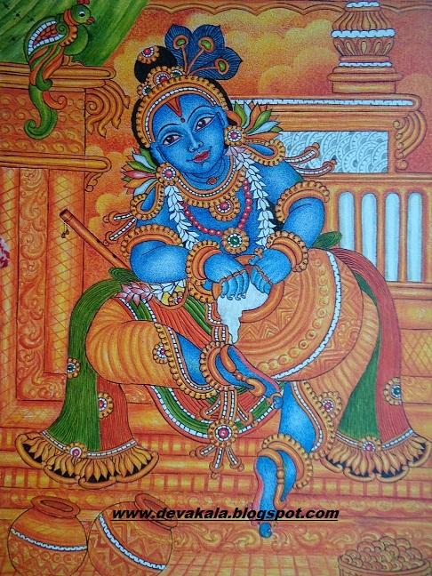 ദേവകല ---- mural paintings  ദേവകല...