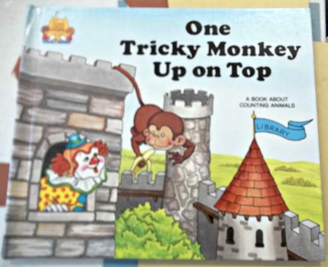 One Tricky Monkey Book and Companion Craft