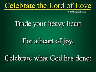 Lirik dan Kord Lagu Barat Rohani Celebrate The Lord of Love