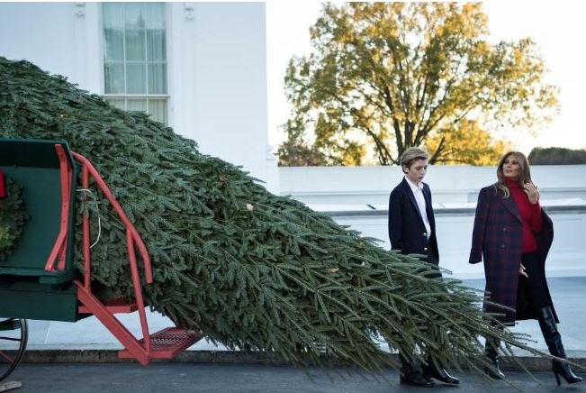 melania-trump-unveils-white-house-christmas-decorations