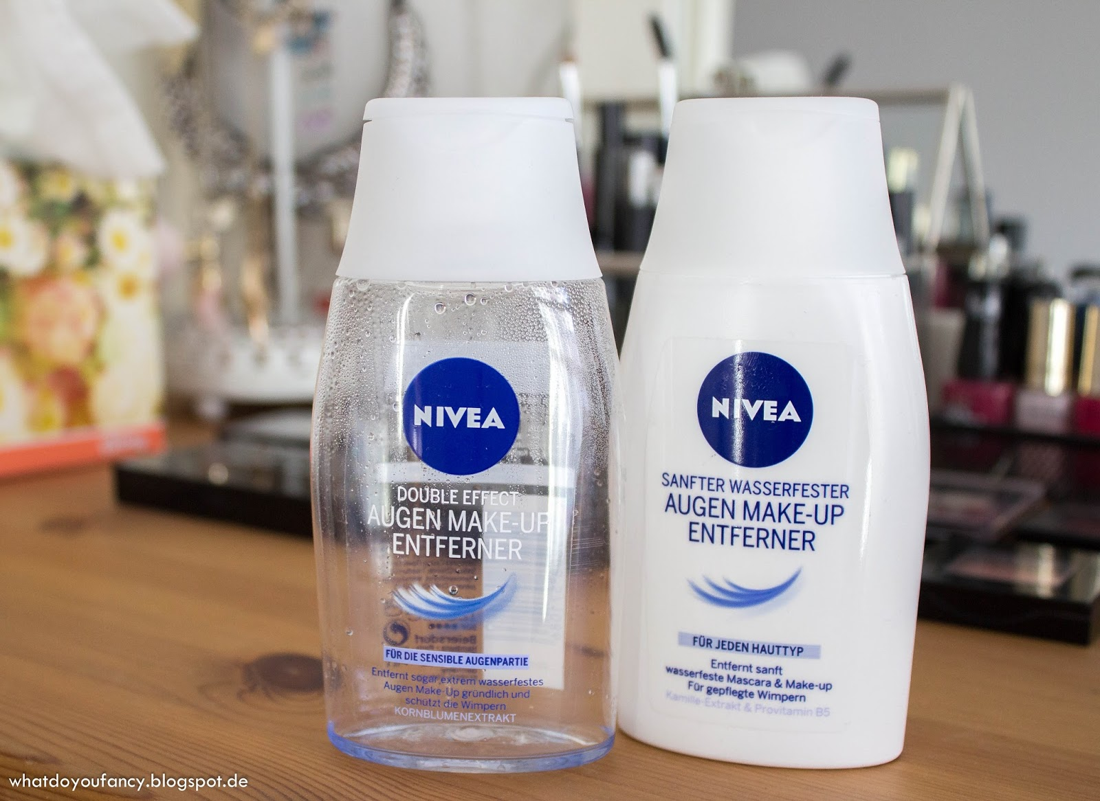 Nivea Double Effect Augen-Make-Up-Entferner