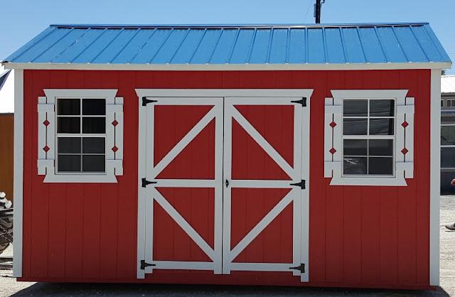 Flag Colors!!! 10u0027x16u0027 Portable Side Utility Storage Building