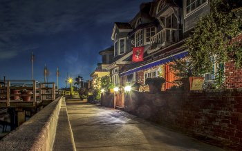 Wallpaper: Walk through Balboa Island