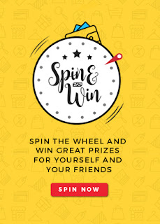 win paytm cash , spin and win