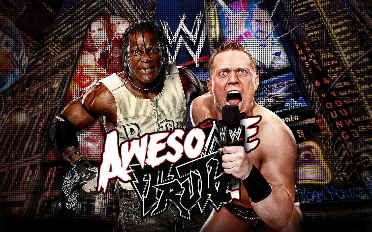 New awesome truth wallpaper kamal design lab - Wwe rated rko wallpaper ...