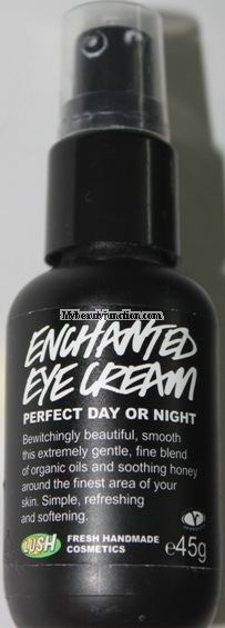 Lush Cosmetics Enchanted Eye Cream review