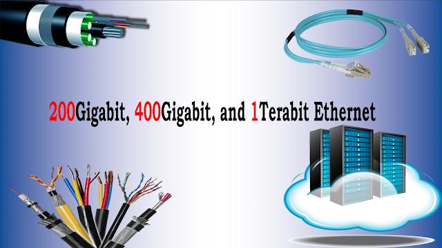 200Gigabit, 400Gigabit, and 1Terabit Ethernet