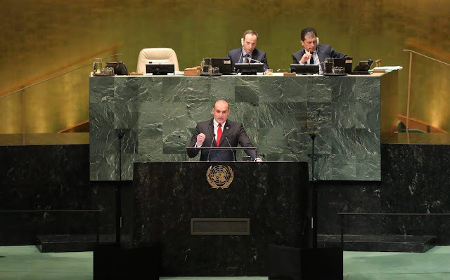 Premier georgiano se dirige a Abjasia y Osetia en el discurso de la ONU