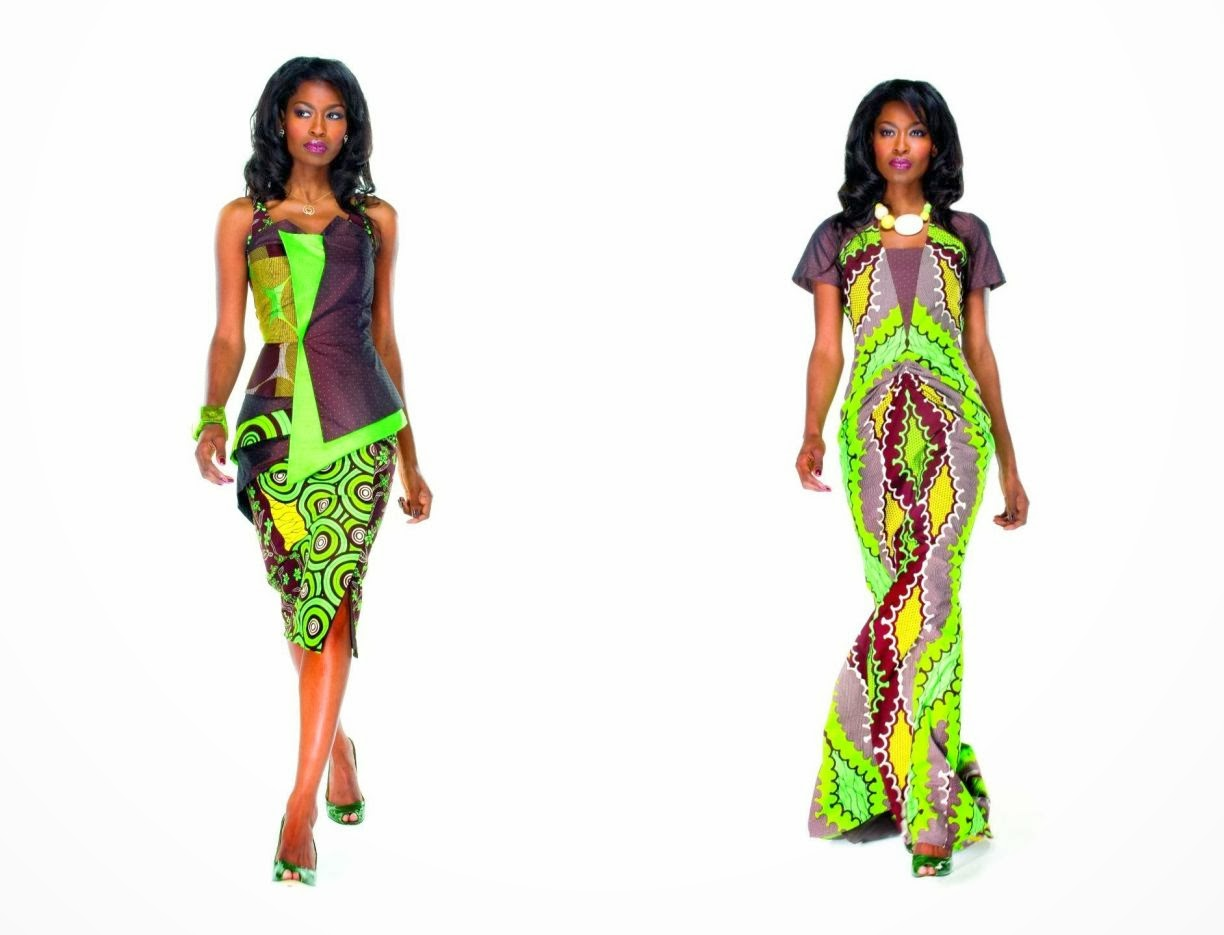 Ankara Gown Style: Long And Short Gown Ankara Style