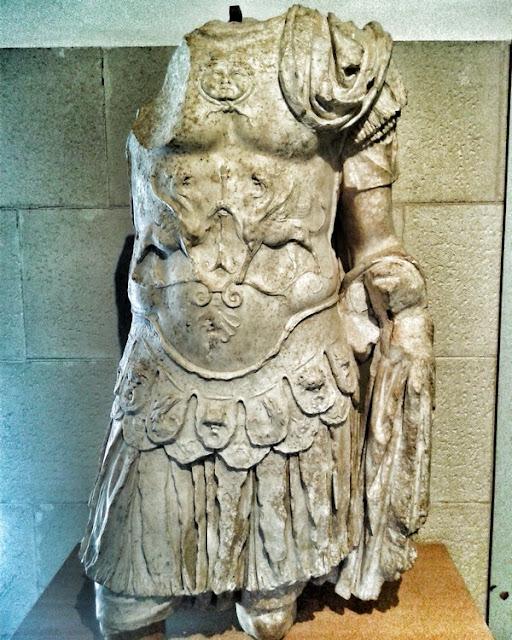 Segóbriga. Busto romano